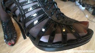getlinkyoutube.com-Best nylon feet fetish