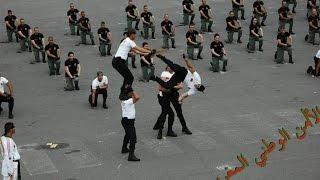 getlinkyoutube.com-الشرطي هشام ملولي في أقوى استعراض للشرطة الوطنية المغربية | Hicham Mallouli Police Maroc