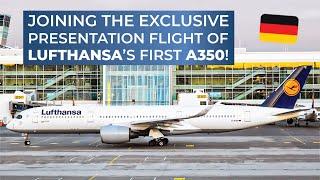 getlinkyoutube.com-TRIPREPORT | Lufthansa (BUSINESS CLASS) | Airbus A350-900XWB | Munich - Hamburg