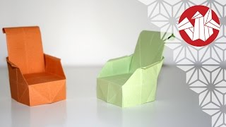 getlinkyoutube.com-Origami - Fauteuil [Senbazuru]