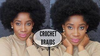 getlinkyoutube.com-Short Afro Kinky Crochet Braids