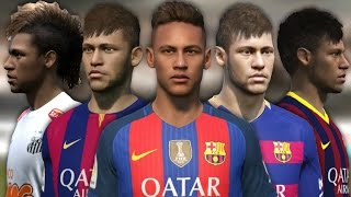 getlinkyoutube.com-Neymar from FIFA 10 to FIFA 17