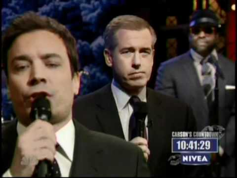 THE NEW YEARS EVE SLOW JAM by Jimmy Fallon and Brian Williams