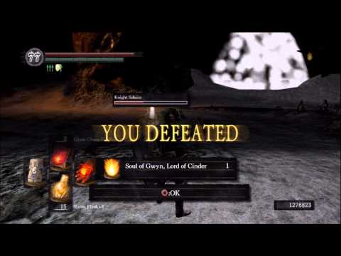 Dark Souls Defeat of Gwyn + Dark Lord Ending