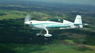 getlinkyoutube.com-Electric aircraft: World-record electric motor makes first flight.