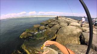 getlinkyoutube.com-Saltwater Fishing Trip, NJ ft. Extreme Philly Fishing