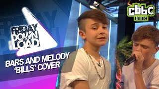 getlinkyoutube.com-Bars and Melody cover LunchMoney Lewis 'Bills' - Lyric Video