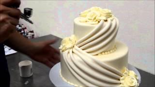 getlinkyoutube.com-Make Wedding cakes with Roses