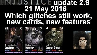 getlinkyoutube.com-21 May 2016: Injustice 2.9 What glitches still work, new cards and new features