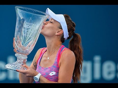 2016 Connecticut Open Final | Agnieszka Radwanska vs Elina Svitolina | WTA Highlights