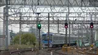 getlinkyoutube.com-11/17 小田急4000形 常磐線からの返却回送