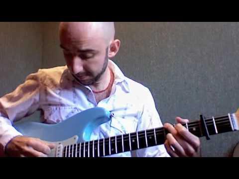 """""""Gli Angeli"""" Vasco Rossi Arpeggio Lesson by Nikko Menichini PARTE 1"""