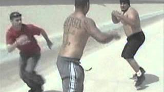 getlinkyoutube.com-Felony Fights - Mexican Vs. Crip Gangster