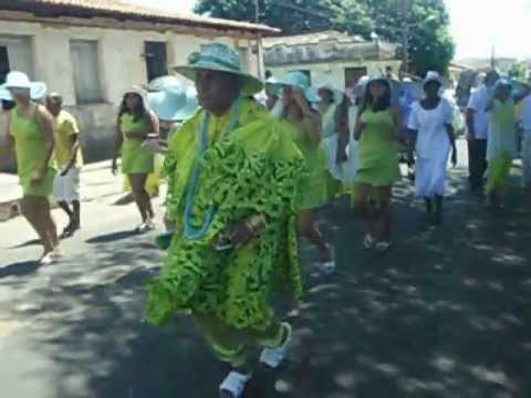 Mestre Bita do Barão pelas ruas de Codó-MA em 16/08/2012