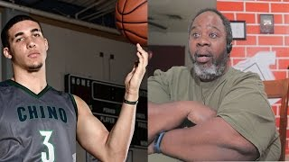 Dad Reacts to LiAngelo Ball Scores 72 POINTS! 13 Three Pointers! Full Highlights