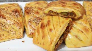 getlinkyoutube.com-فطائر رائعة محشوة بالطون خفيفة للعشاء مع طبخ ليلى fatira sahla