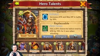 JT's Main Rolling For Anubis + Michael ONE TIME! Castle Clash