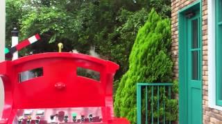 getlinkyoutube.com-瑛多クン トーマスランドでジェームスの炭水車に乗る