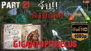getlinkyoutube.com-ARK: Survival Evolved Part #21 จับ Gigantopithecus ลิงยักษ์