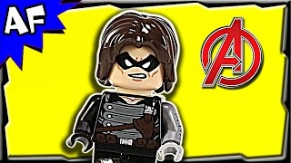 getlinkyoutube.com-Lego Captain America WINTER SOLDIER Minifigure Review 5002943