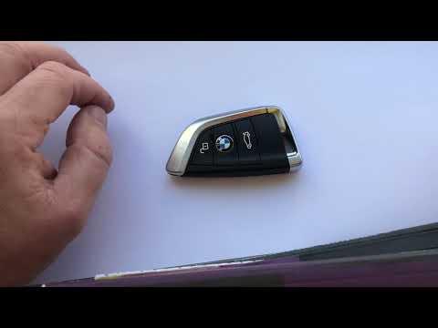 Замена батарейки в ключе BMW X6 f16 f86 X5 f15 f85 / Change battery in key BMW X6 f16 f86 X5 f15 f85