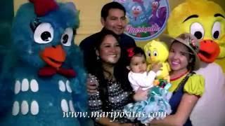getlinkyoutube.com-Show Infantil de la Gallina Pintadita - shows infantiles -Maripositas kids show
