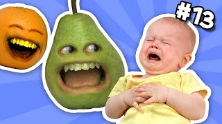 getlinkyoutube.com-Annoying Orange - Ask Orange #13: Pear Hates Babies?!