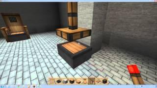 getlinkyoutube.com-Unhak] 마인크래프트 가구 - 앉을 수 있는 의자 만들기