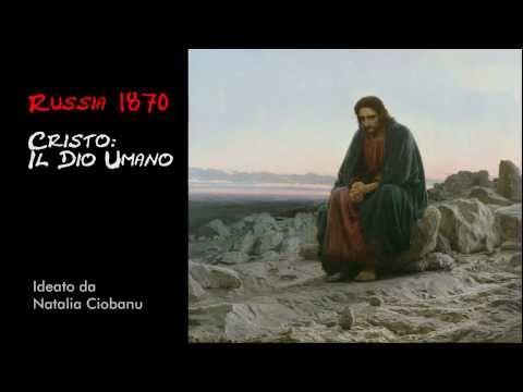 Cristo nel deserto di Kramskoj
