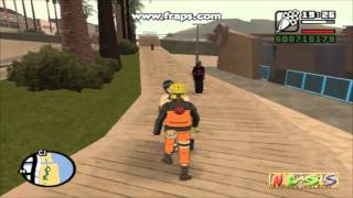 NaruHina GTA San Andreas Episodio 1 Parte 1 HD