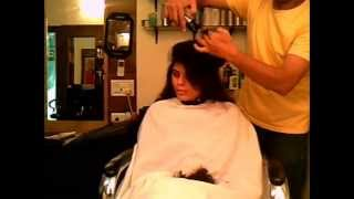 getlinkyoutube.com-Curly Haircut (Dry Haircut) Promotional Haircut