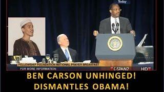 getlinkyoutube.com-Ben Carson Unhinged! Dismantles Obama! Amazing! I Love This Man!