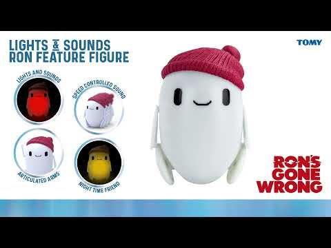 Ron's Gone Wrong My Best Friend Ron Interactive Toy Plush