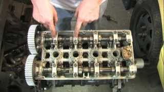 getlinkyoutube.com-Cylinder Head 101 - Remove Cams Rockers & Lifters