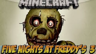 getlinkyoutube.com-Minecraft 1.7.10 | EL MEJOR MOD DE FIVE NIGTHS AT FREDDY 3 | FREDDYCRAFT MOD