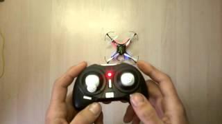 getlinkyoutube.com-Квадрокоптер H8 Mini калибровка настройка и инструкция по управлению
