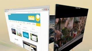 getlinkyoutube.com-جماليات لينكس: 3. تفعيل تأثيرات كومبيز - Compiz ومكتب 3D