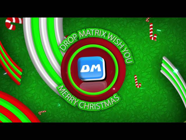 Drop Matrix Wish you all Happy X-Mas