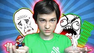 getlinkyoutube.com-САМАЯ УЖАСНАЯ ИГРА!!! | Cat Mario (Memes Mario)