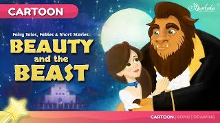 Beauty and the Beast Kids Story Animation | Fairy Tales & Bedtime Stories For Kids