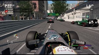 getlinkyoutube.com-F1 2013 Gameplay Monaco 100% Race Lewis Hamilton