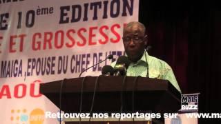 Discours Ousmane Koné lors de la 10eme Edition Journee Nationale de la Maternité a Moindre Risque