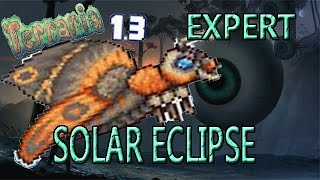 getlinkyoutube.com-Terraria 1.3 Expert Full Solar Eclipse Mothron Fight!