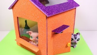 getlinkyoutube.com-DIY LPS / Doll House
