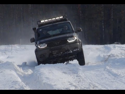 Снежный десант 2019 Клуб УАЗ Патриот