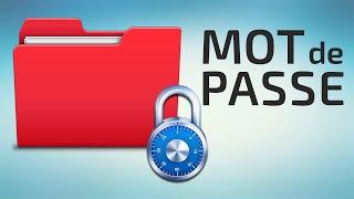 getlinkyoutube.com-Comment mettre un mot de passe sur un dossier / fichier ► Tuto Fr