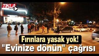 Sakarya'da vatandaşlar fırınlara akın etti
