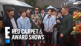 BTS Reveals Number One Social Media Rule   E! Live from the Red Carpet