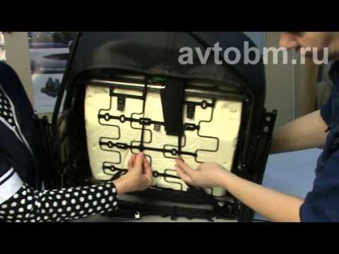 Установка авточехлов на сидения автомобиля 'Рено Логан' 2-го поколения