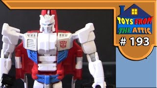 Toys from the attic E193 transformers combiner wars fierfly